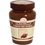 Кунжутная паста тахини с какао  MACEDONIAN TAHINI ст/б 350гр.